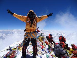 Cume do Monte Everest em 2013